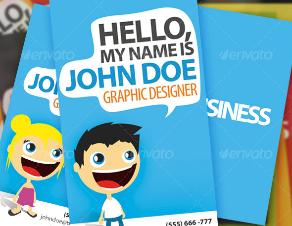 Hello There Business Card - Creation Kit
