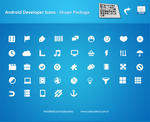 Android Icons Shape Package