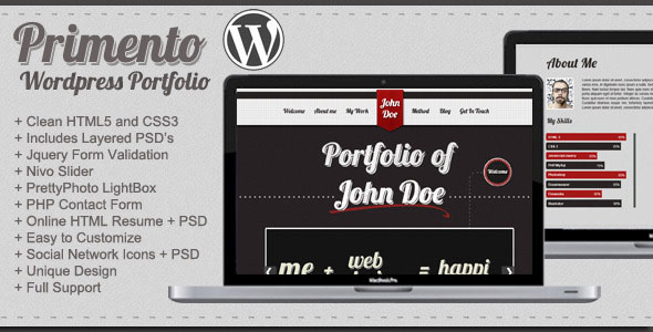 Primento WordPress Portfolio