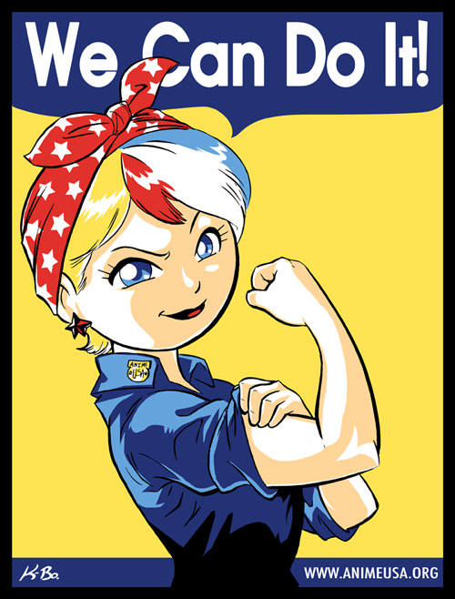 "Anime USA ""We Can Do It"""