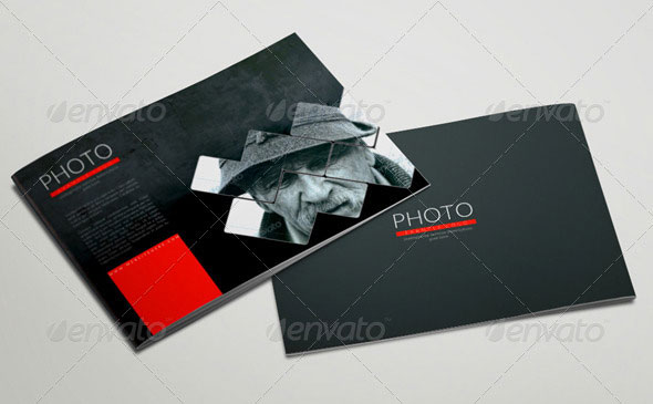 20 Pages Photography Portfolio or Photo Album