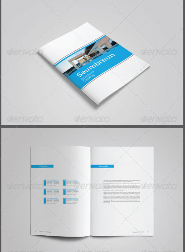 Portrait Portfolio / Catalog Template Vol. 01