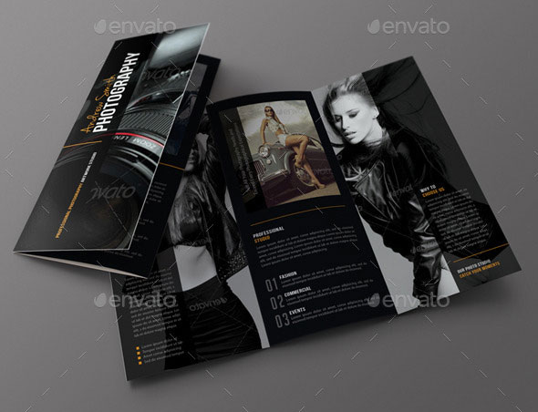 Photography Studio 3-Fold Brochure 02