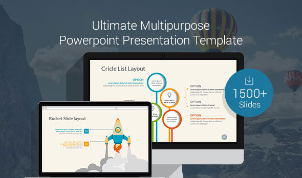 Ultimate Multipurpose PowerPoint Template