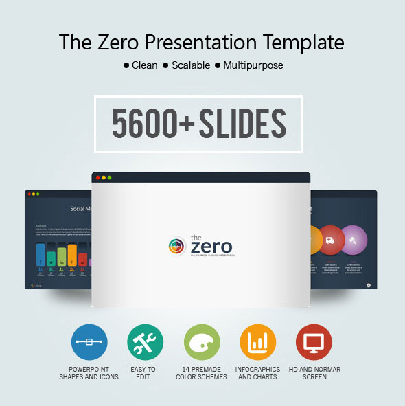 The Zero Business Infographic Presentation