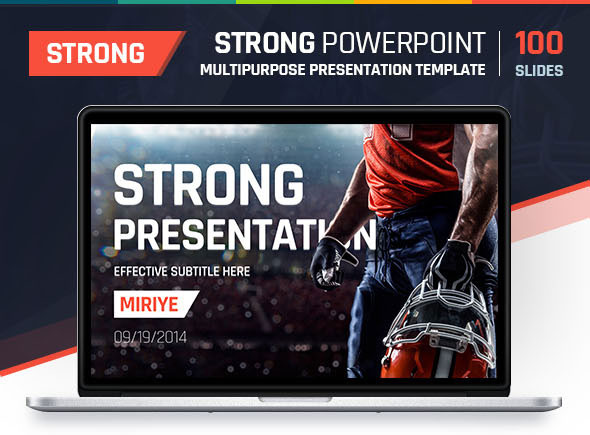 Strong PowerPoint - Multipurpose Presentation