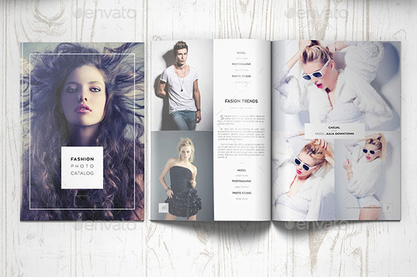 Fashion Photography Catalog / Brochure