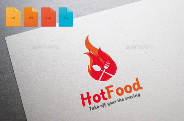 Logo Hot Food