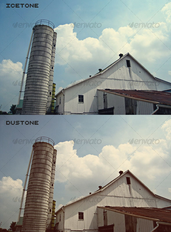 Vintage Photo Actions