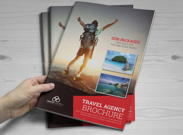 Travel Agency Brochure Catalog InDesign Template 2