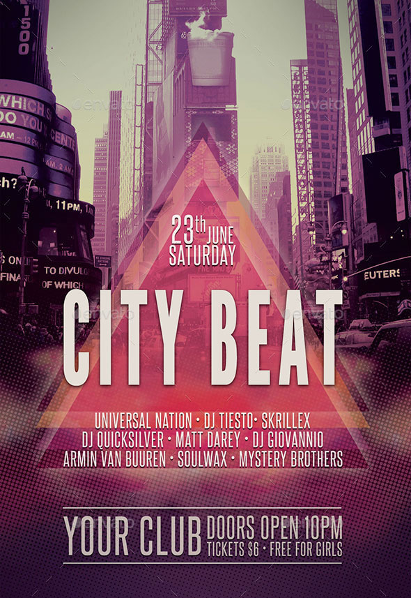 City Beat Flyer