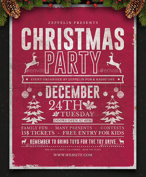 Christmas Flyer Template Vol.2