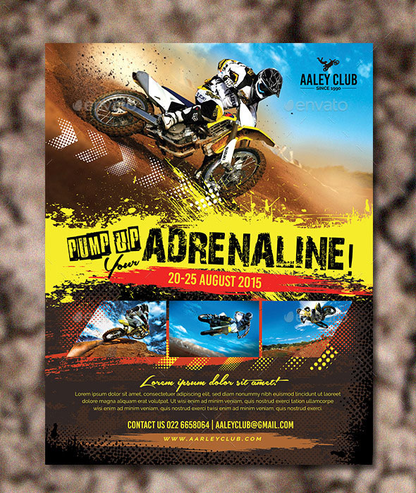 Extreme Sports Flyer / Magazine Ad