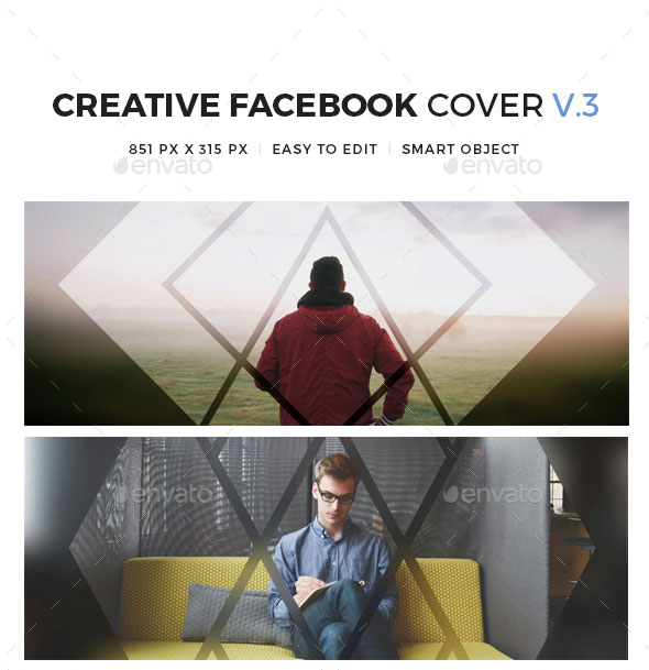 Creative Facebook Cover V3