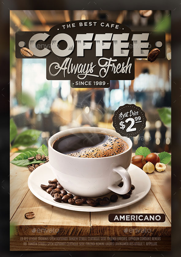 Coffee Flyer Template