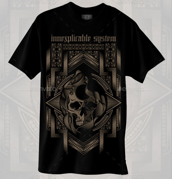 Innexplicable System - T-shirt design