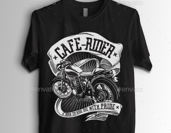 Cafe Rider Motorcycle Wanted
