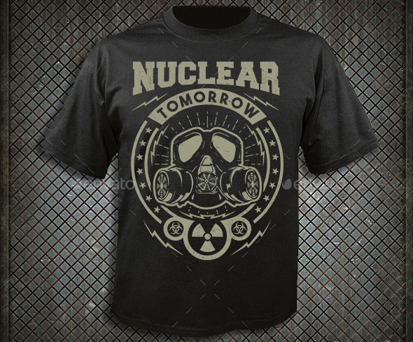 Nuclear Tomorrow T-shirt design