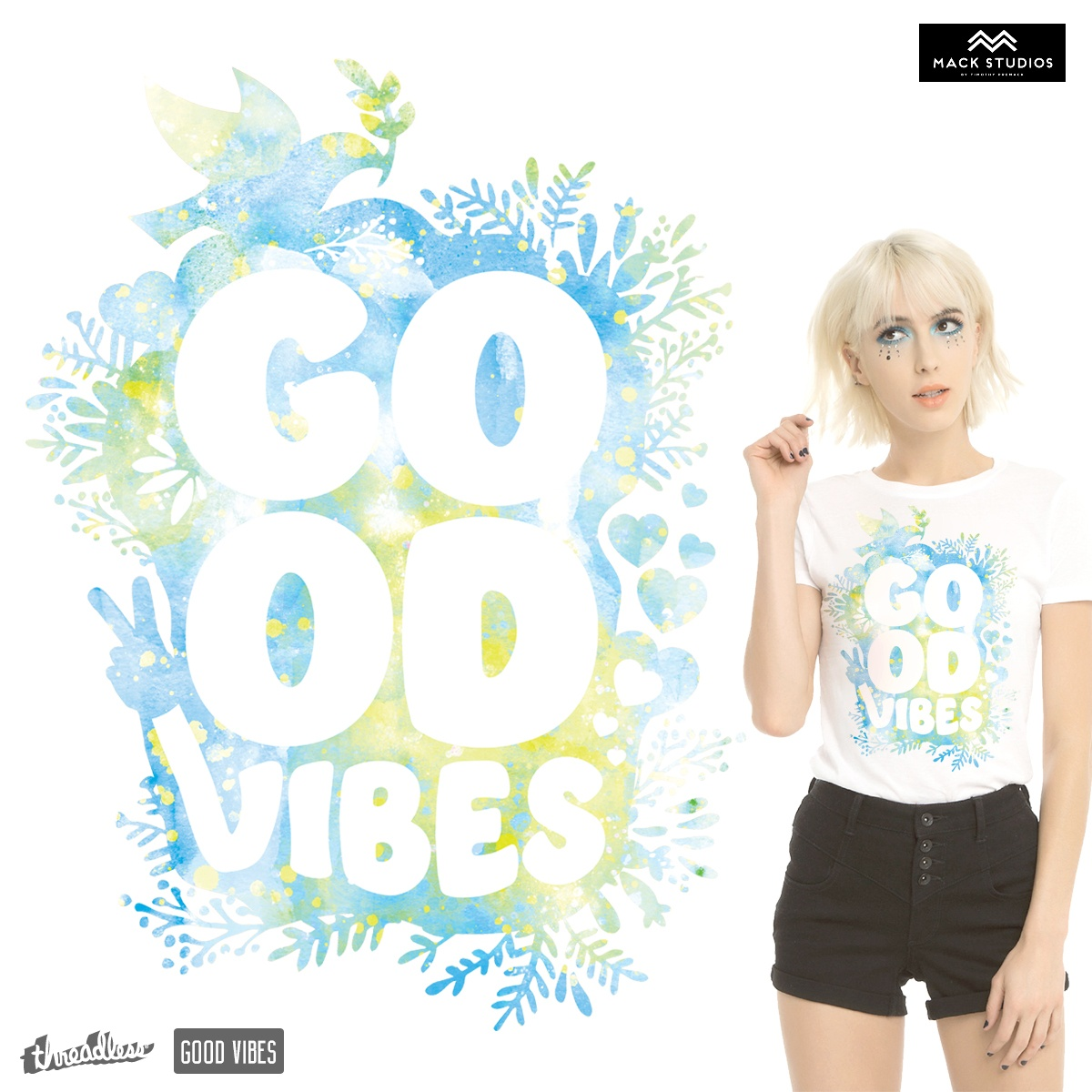Good Vibes Floral Wc