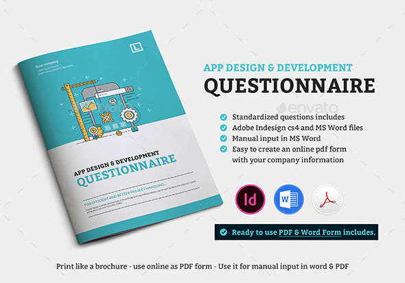 App design questionnaire