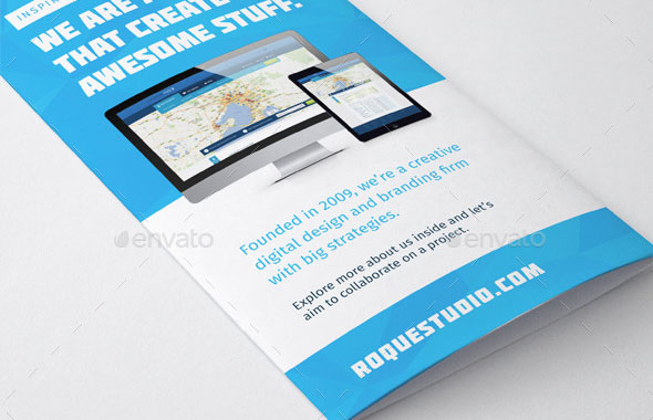 Web Design Agency Brochure