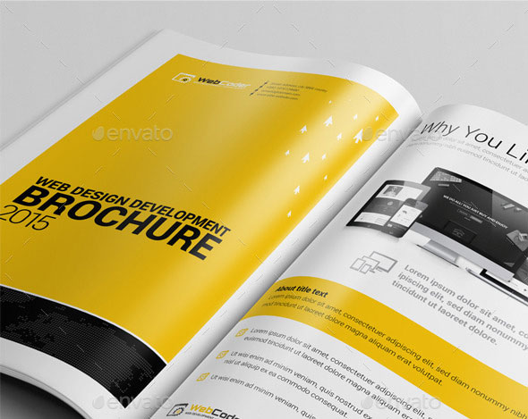 Web Design & Development Agency Bi-Fold Brochure