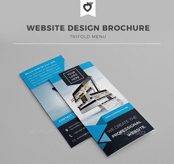 Website Design Trifold Brochure