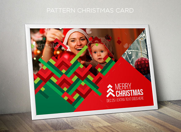 Pattern Christmas Card