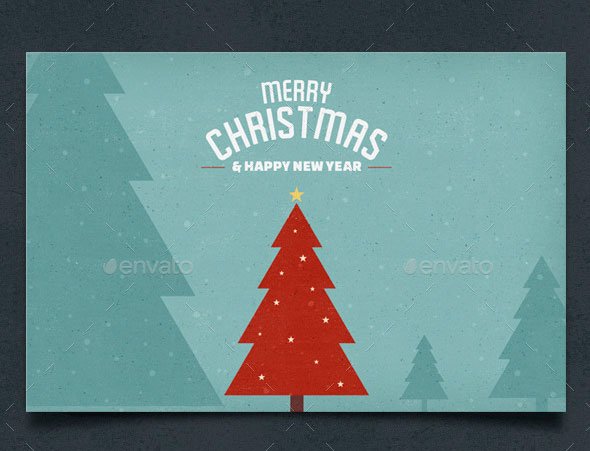 Vintage Christmas Card / Backgrounds