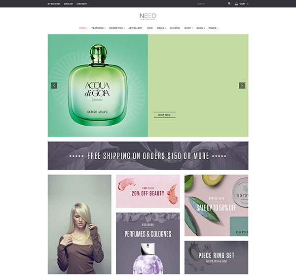 Need Multipurposes Responsive eCommerce WordPress