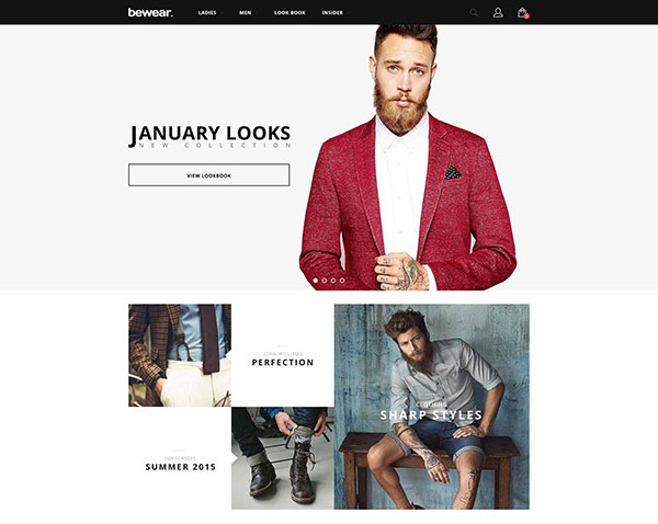 Bewear - Fashion LookBook WooCommerce Theme