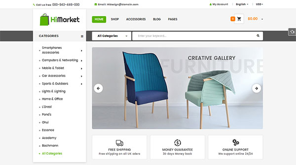 HiMarket - Responsive WooCommerce WordPress Theme