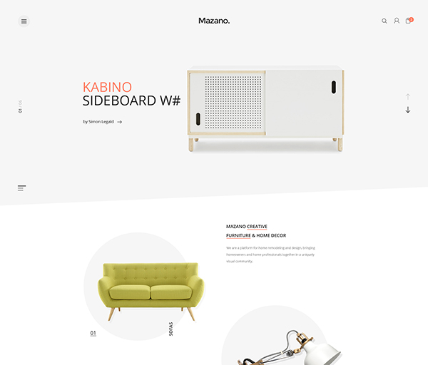 Mazano - Trendy Responsive WordPress Theme