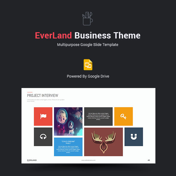 Everland Business Google Slide Theme