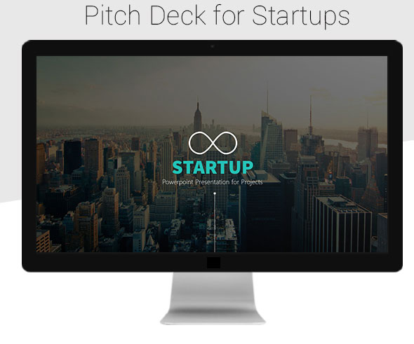 Startup - Clean Pitch Deck Google Slide Template