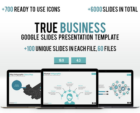 3 in 1 - 2016 Modern Business Google Slides Bundle