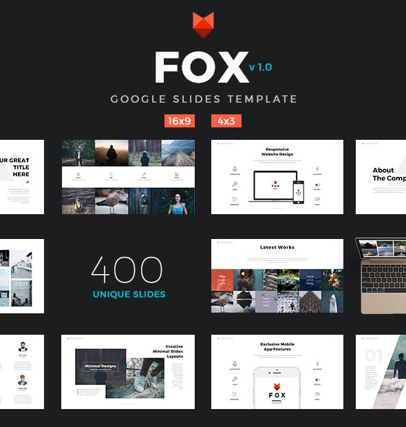 Fox - Ultimate Google Slides Template