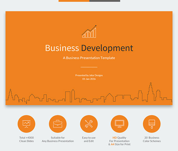 Business Development Google Slides Template