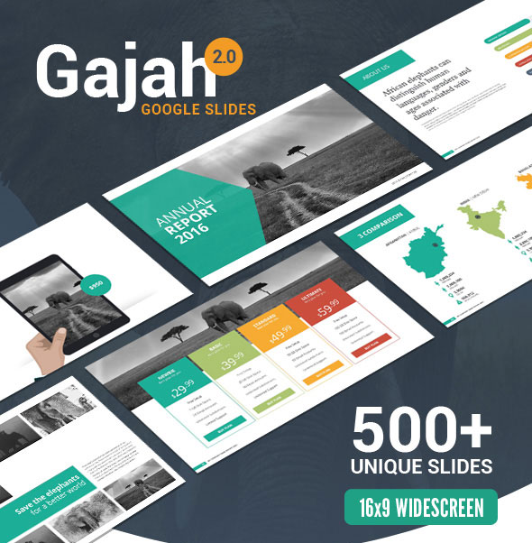 Gajah | Google Slides Template