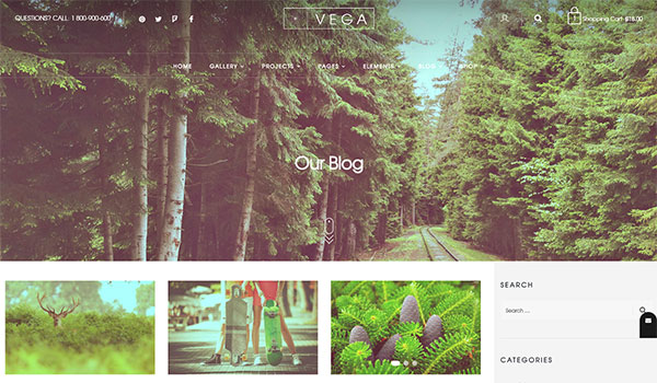 Vega - Creative Multi-Purpose WordPress Theme