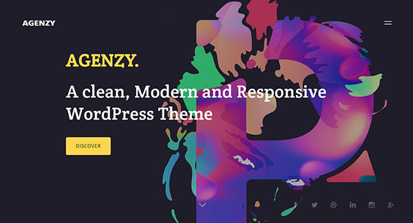 Agenzy - Multi-Purpose WordPress Theme