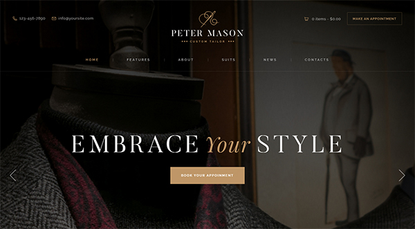 Peter Mason | Custom Tailoring and Clothing Store