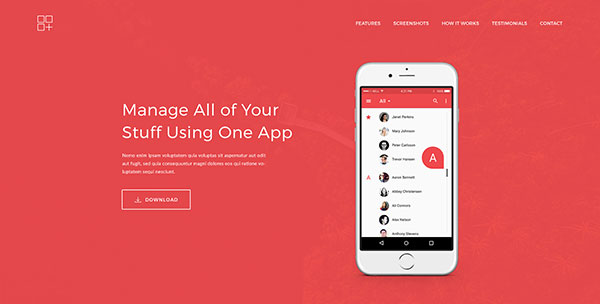 Meson - App Landing Page