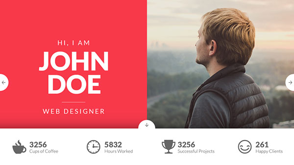 MyVitae :: One Page Resume Template