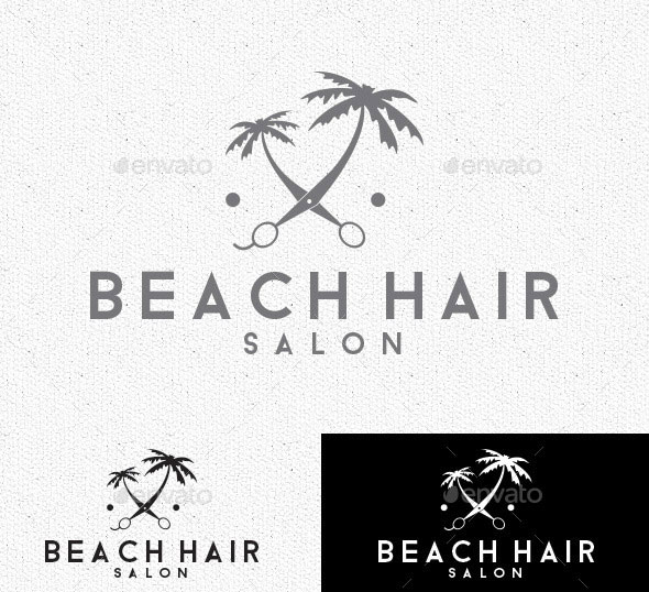 Beach Hair Logo