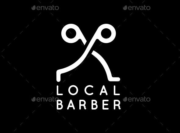 A Trendy Barber Logo