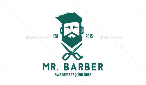 Bearded Barber Logo