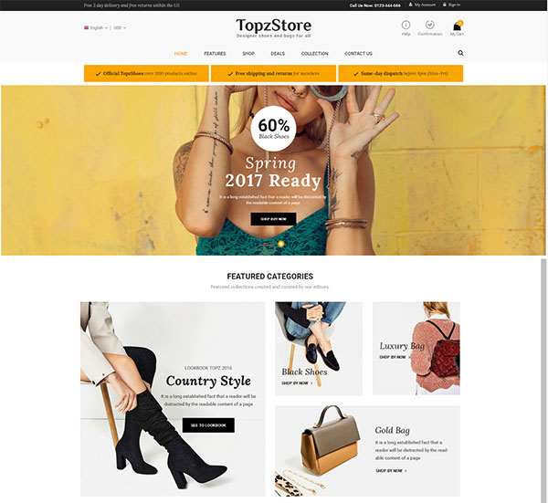 SM TopzStore - Advanced Responsive Magento 2 Theme