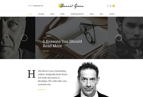 Blog for Writers and Journalists With Bookstore