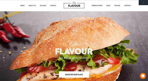 The Flavour - Restaurant WordPress Theme